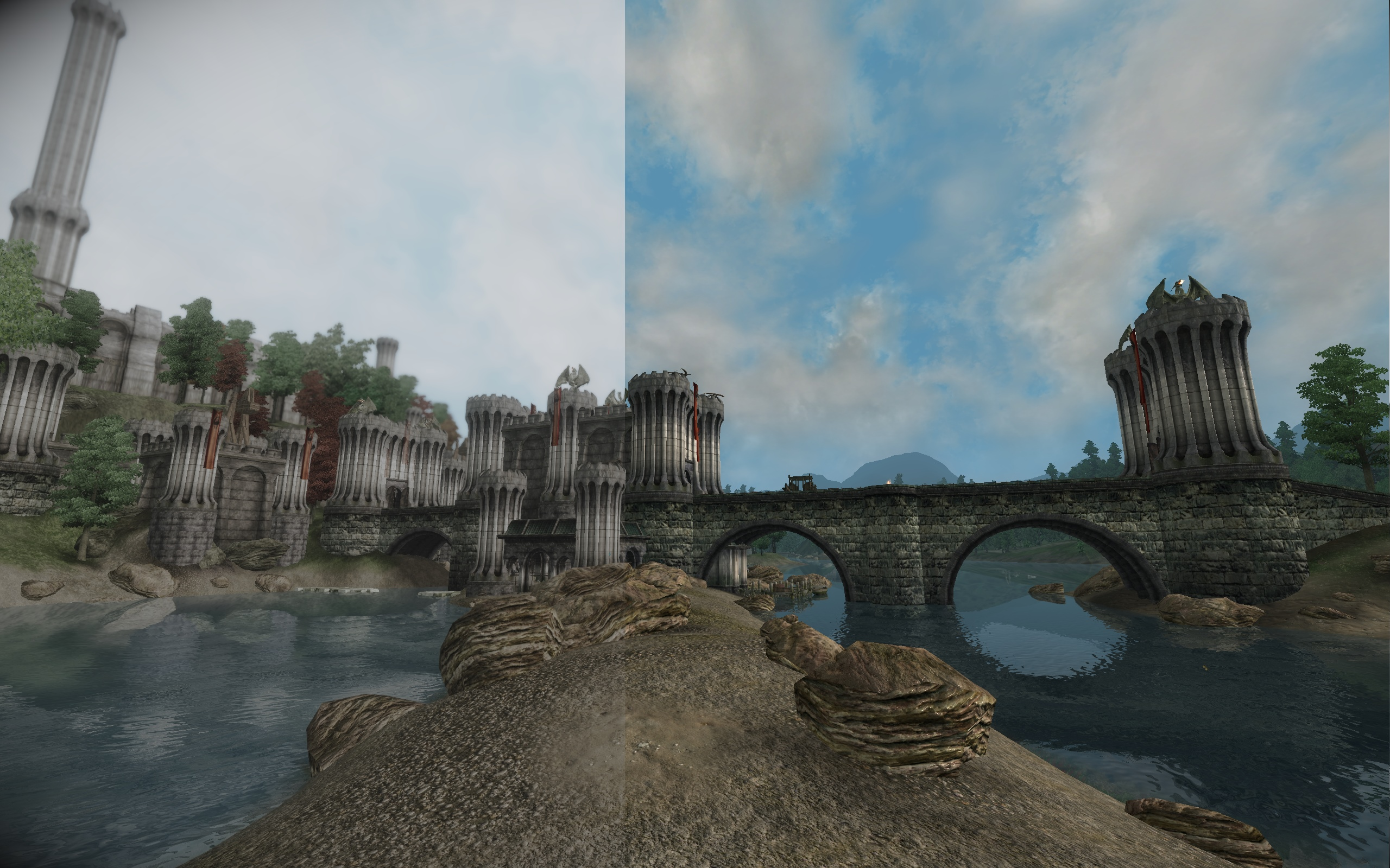 DDD ENB - Cinematic Fantasia vs Original