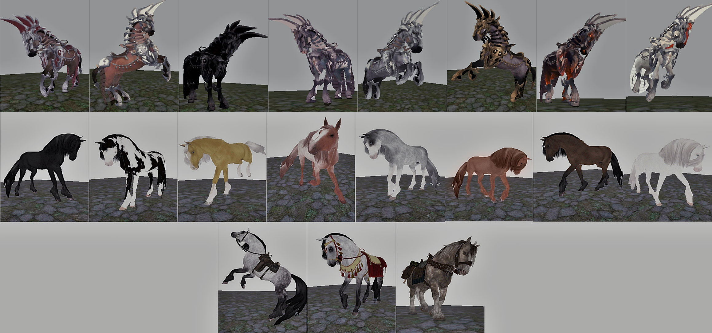 Horse resources DONE