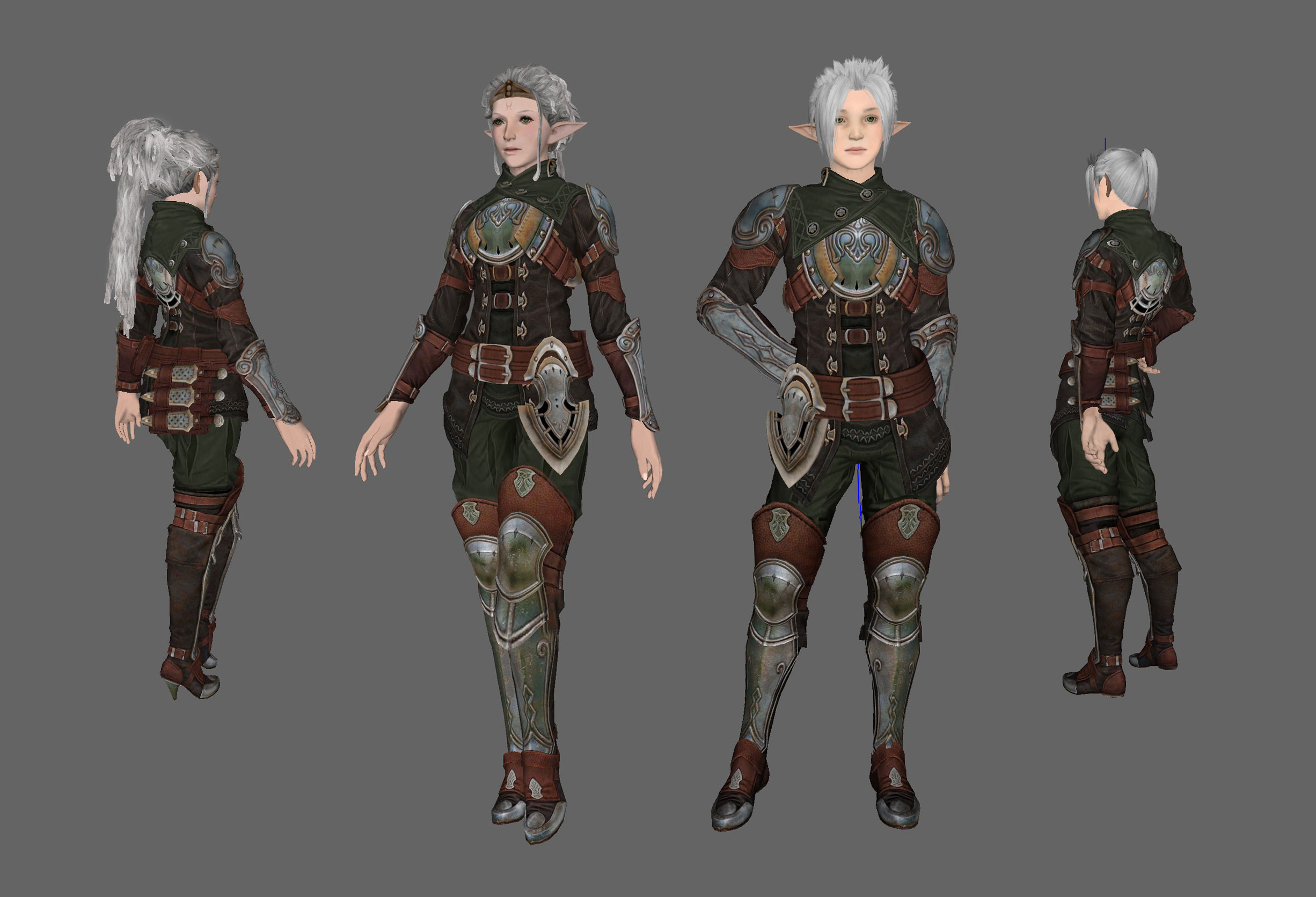 BO Rogue outfit male and female DONE