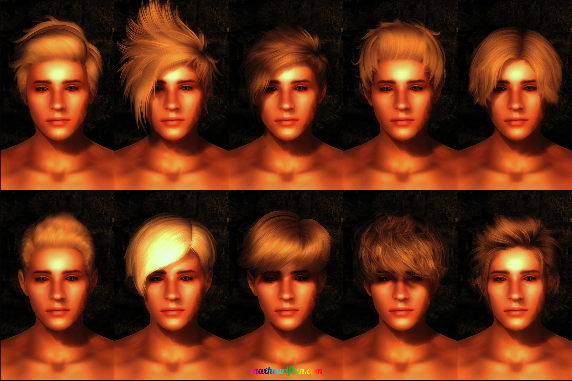 hairs for boys
