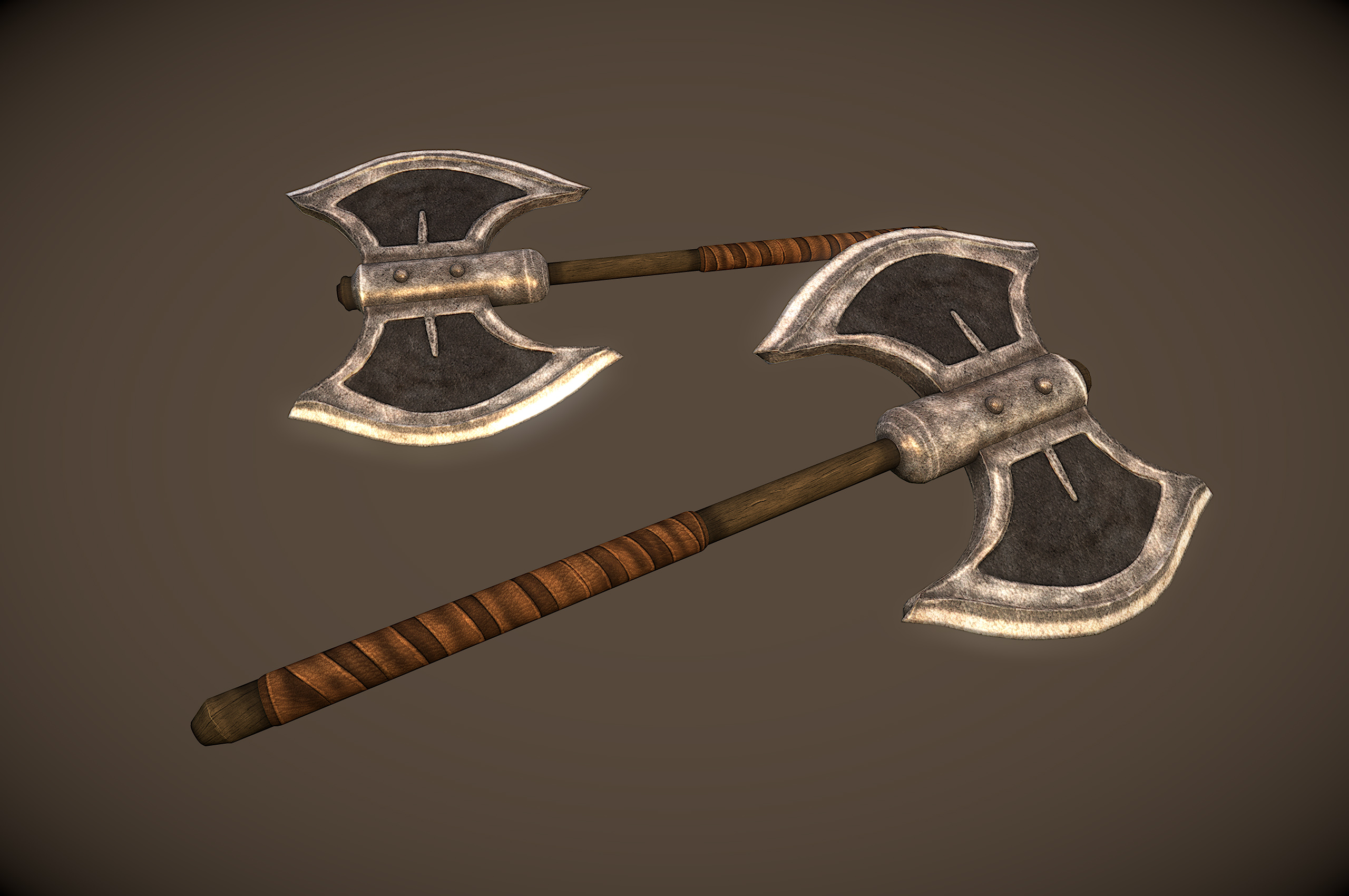 Iron BattleAxe