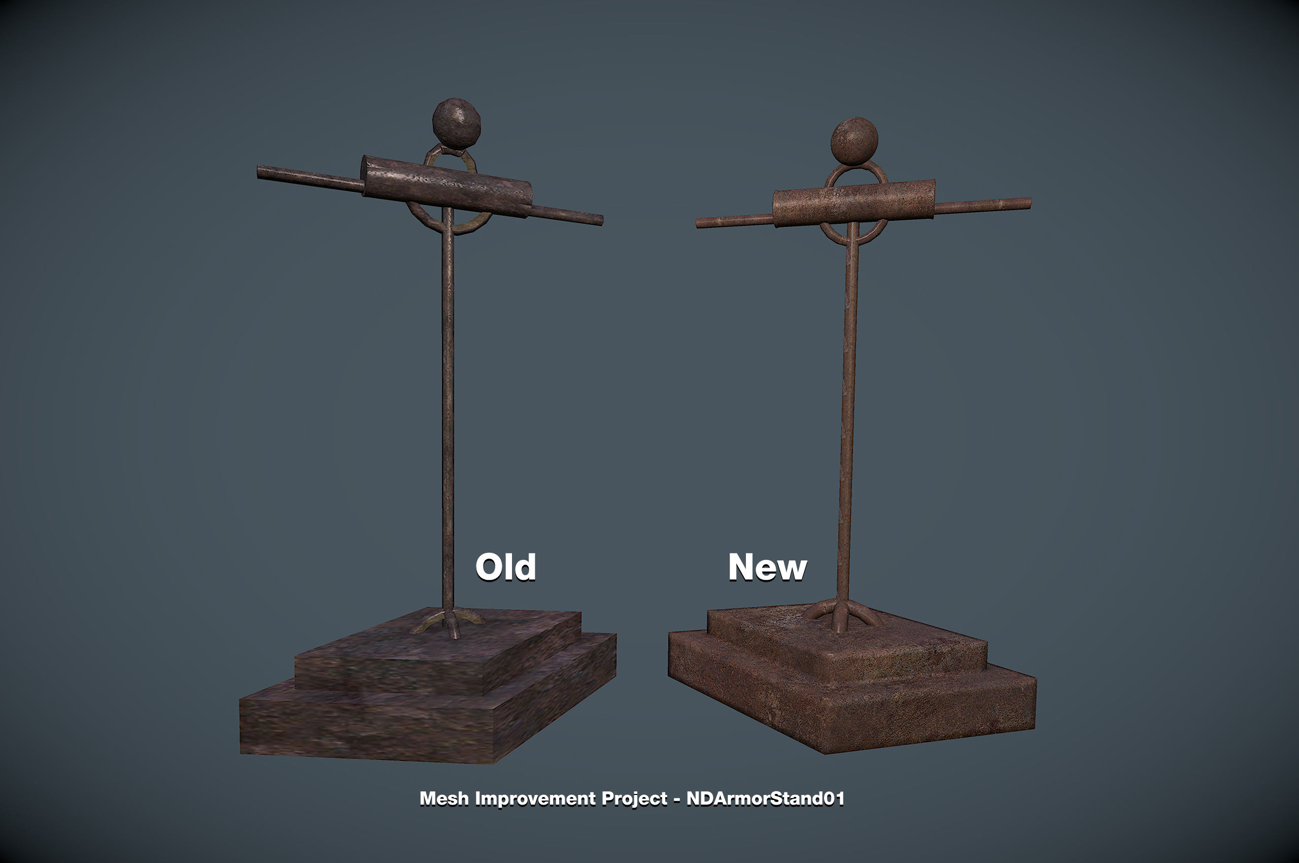 Mesh Improvement Project - NDArmorStand01