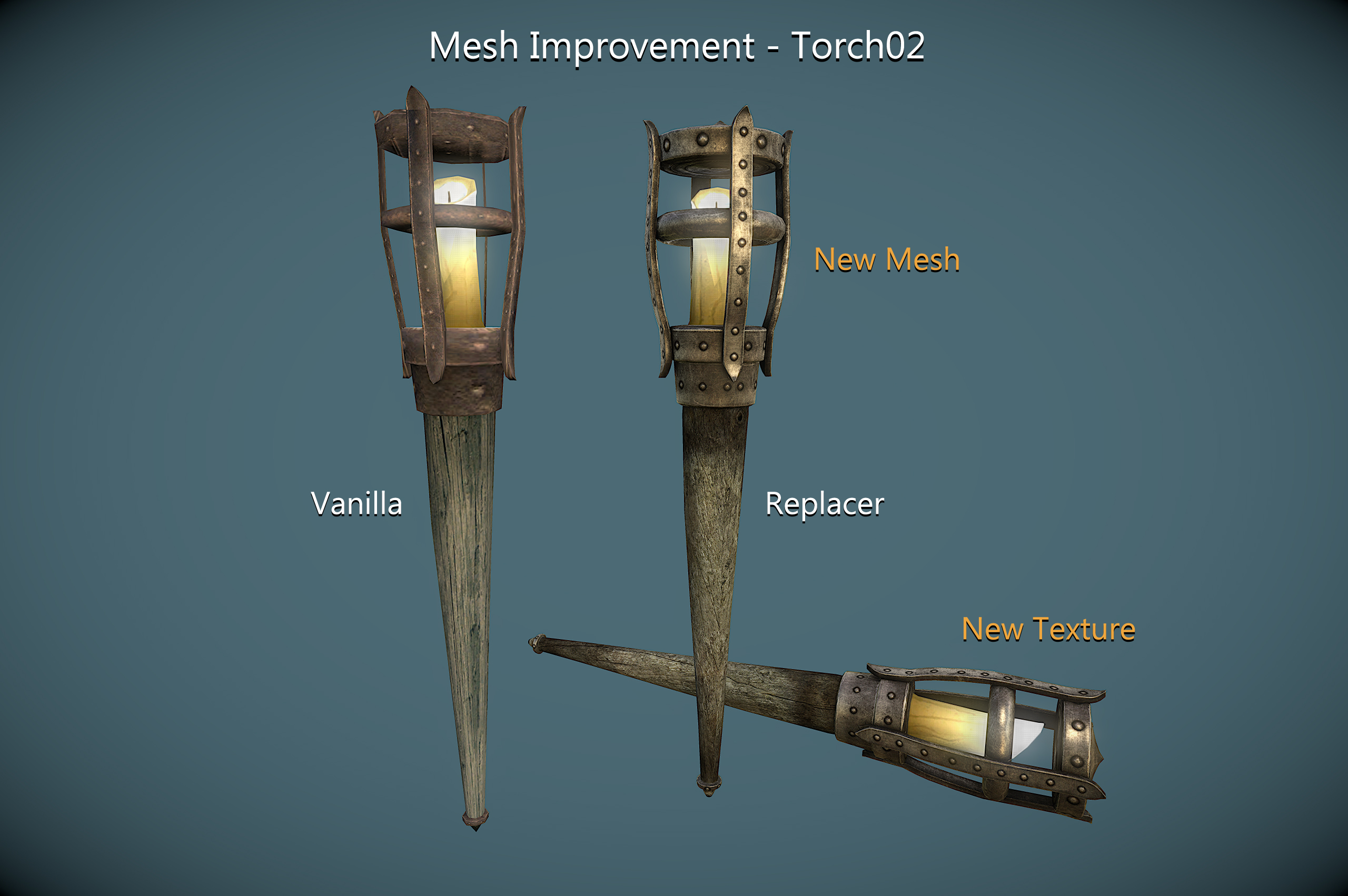 Mesh Improvement - Torch02