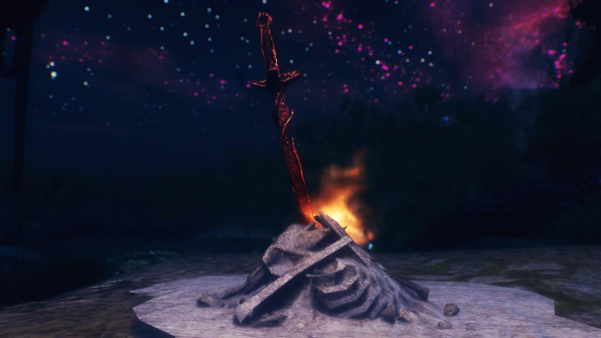 Dark Souls Bonfire At Oblivion Nexus Mods And Community