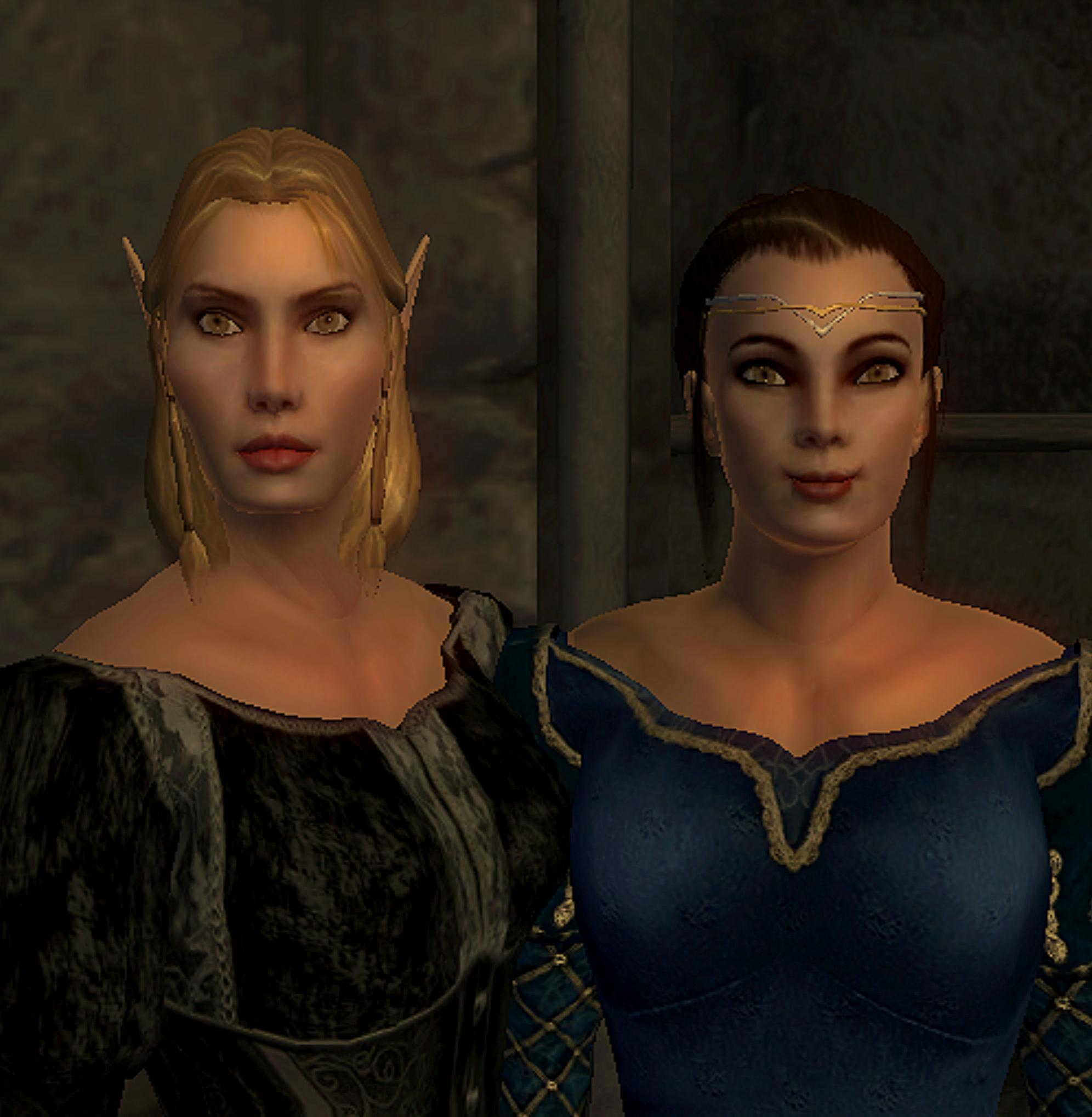 Blast from the past - Gersilla and Countess Julia