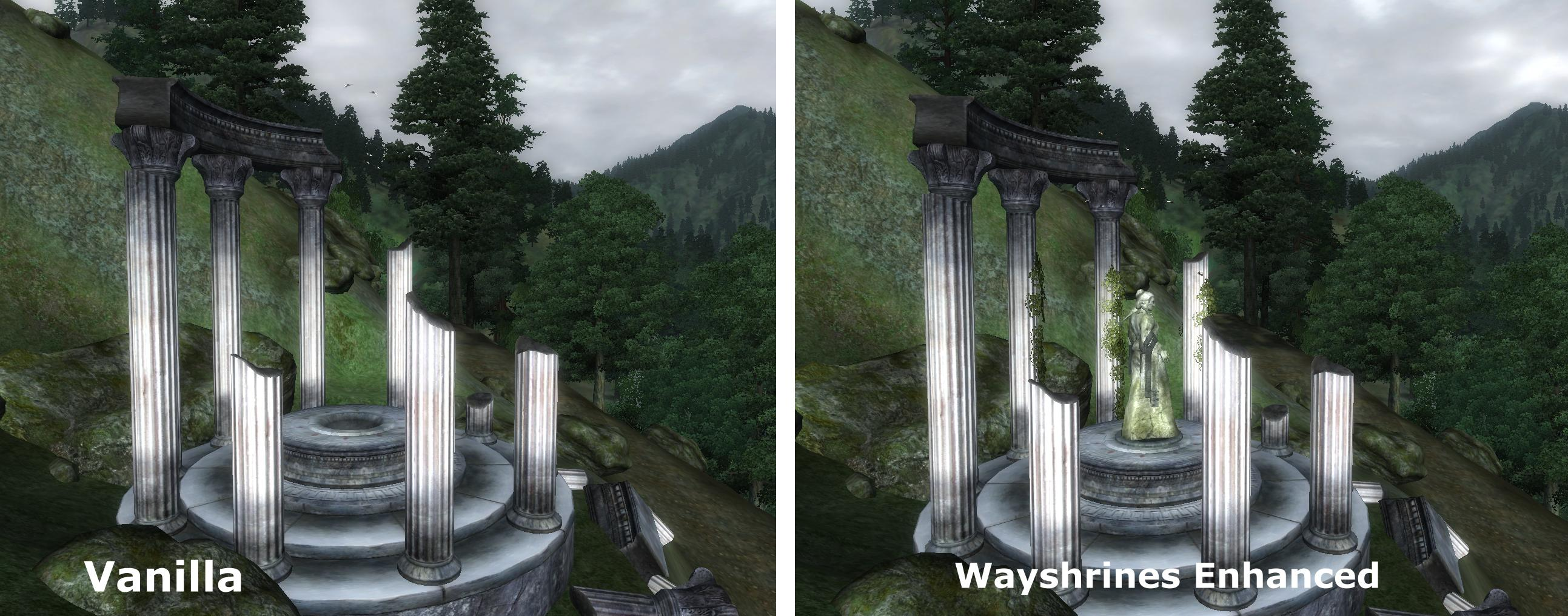 Wayshrines improved - Kynareth