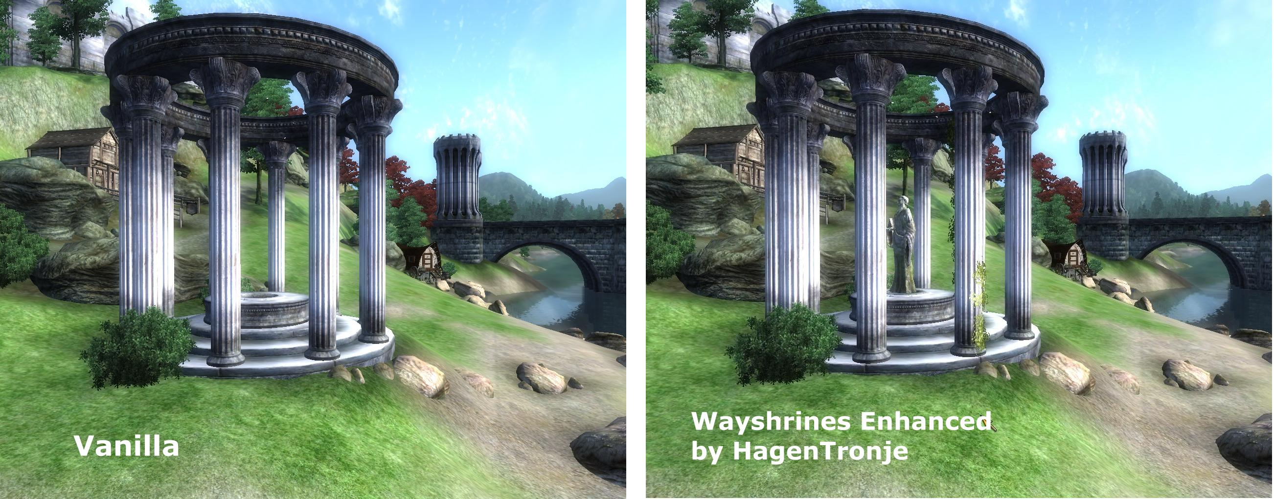 Wayshrines Improved - Julianos
