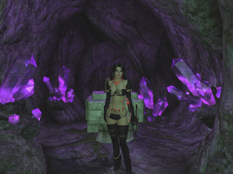Victoria In Crystal Cave 2