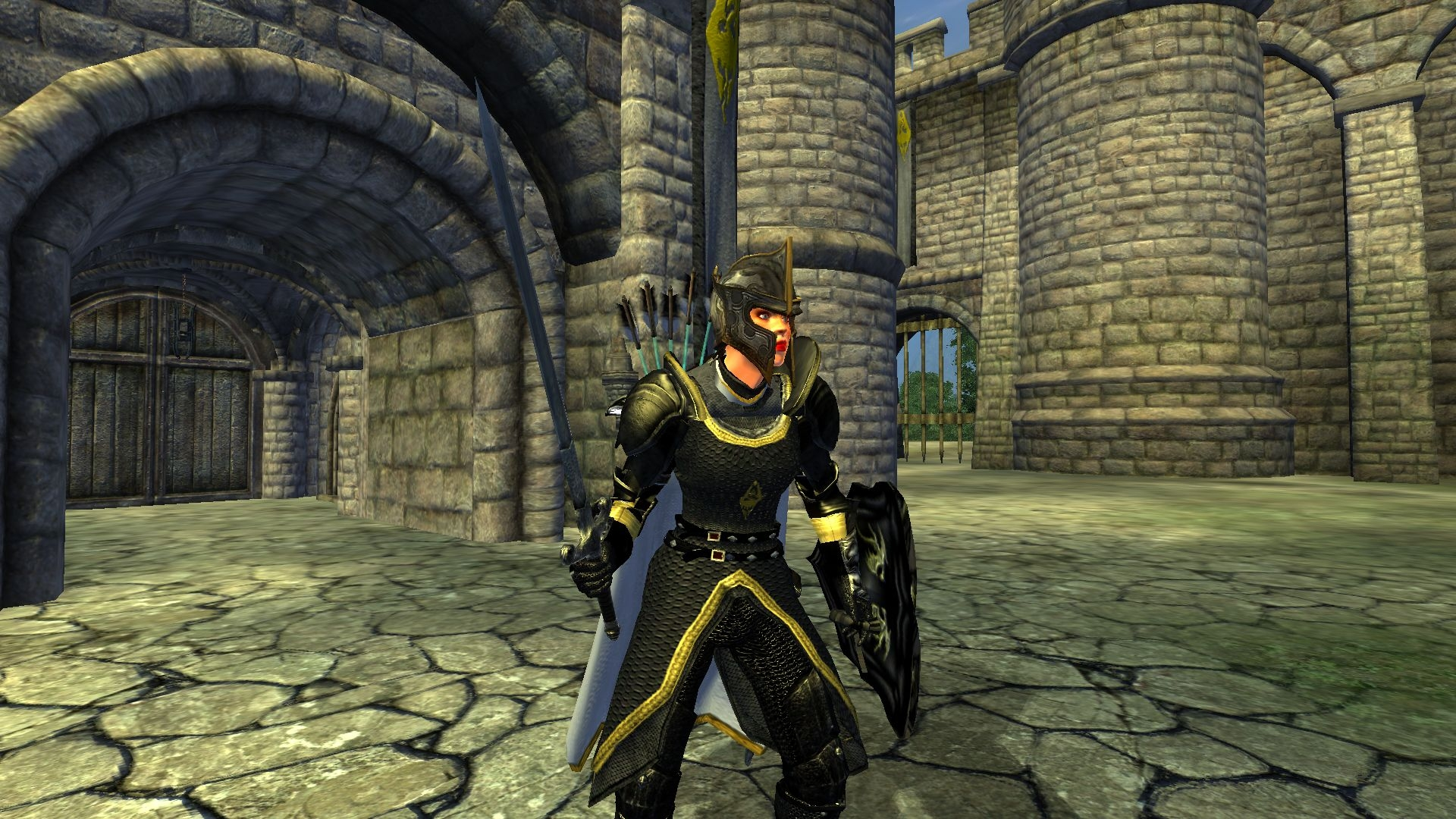 My Glenvar Guard Armor Female Version
