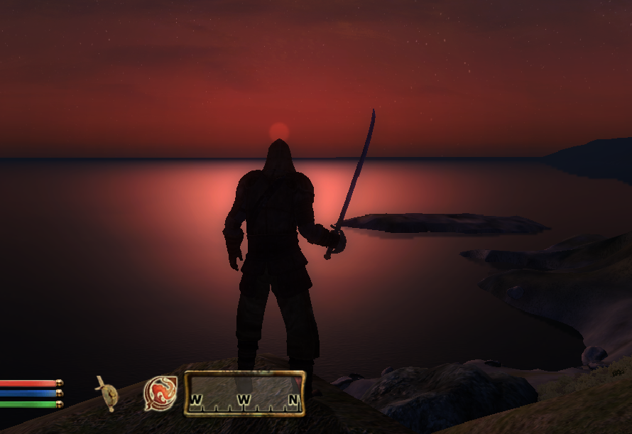 Sunset Cyrodiil