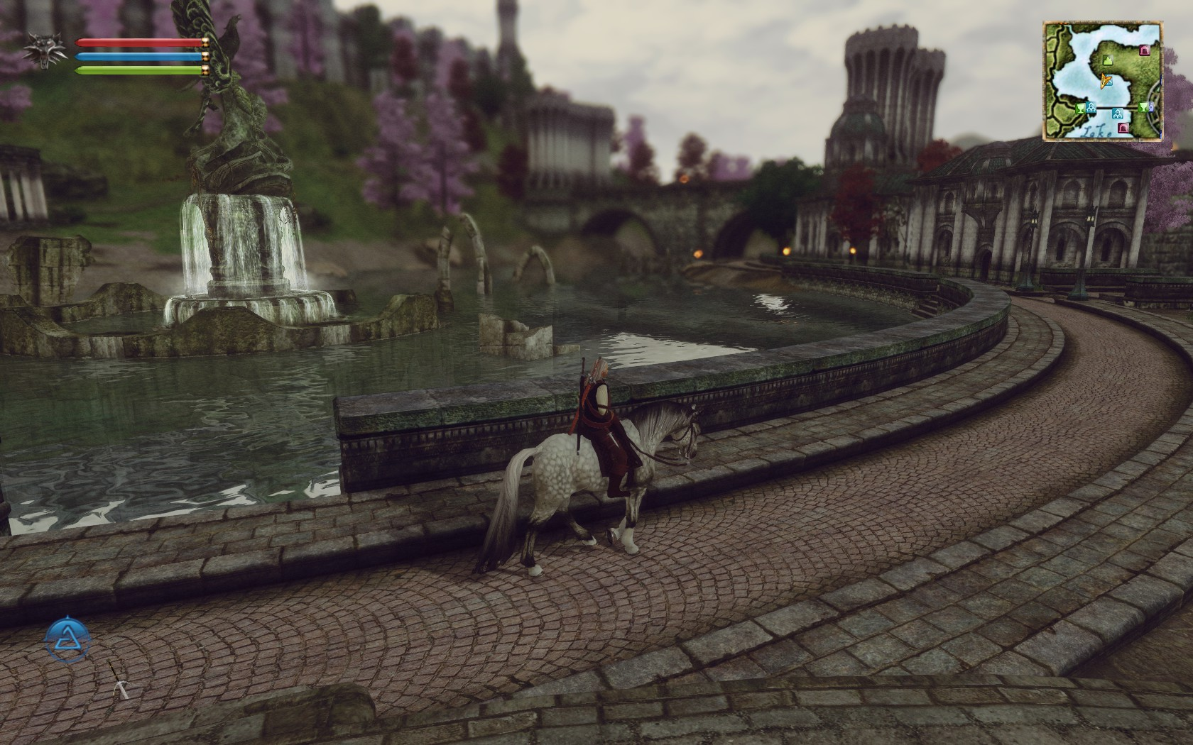 The Witcher in Oblivion - Mod Imperial City Suburbs
