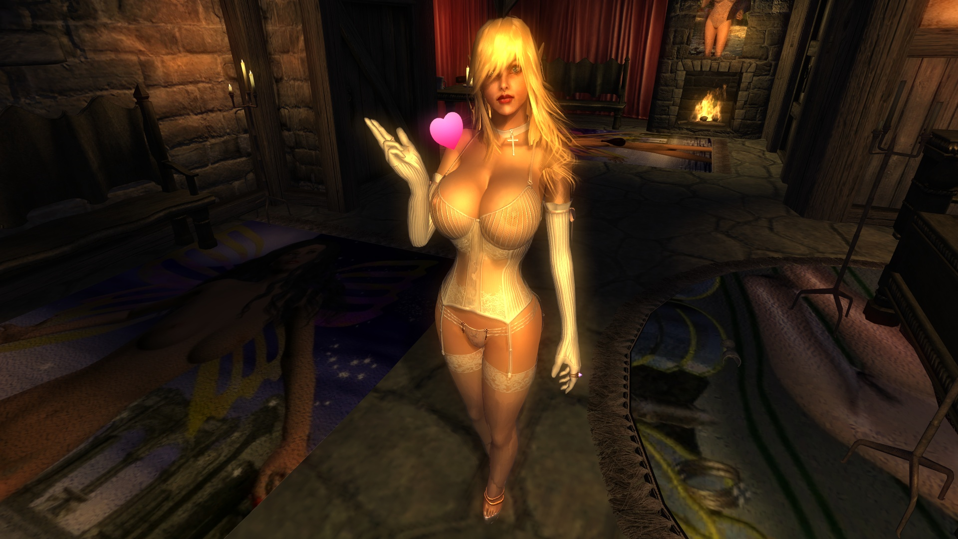 The elder scrolls iv nude nackt video