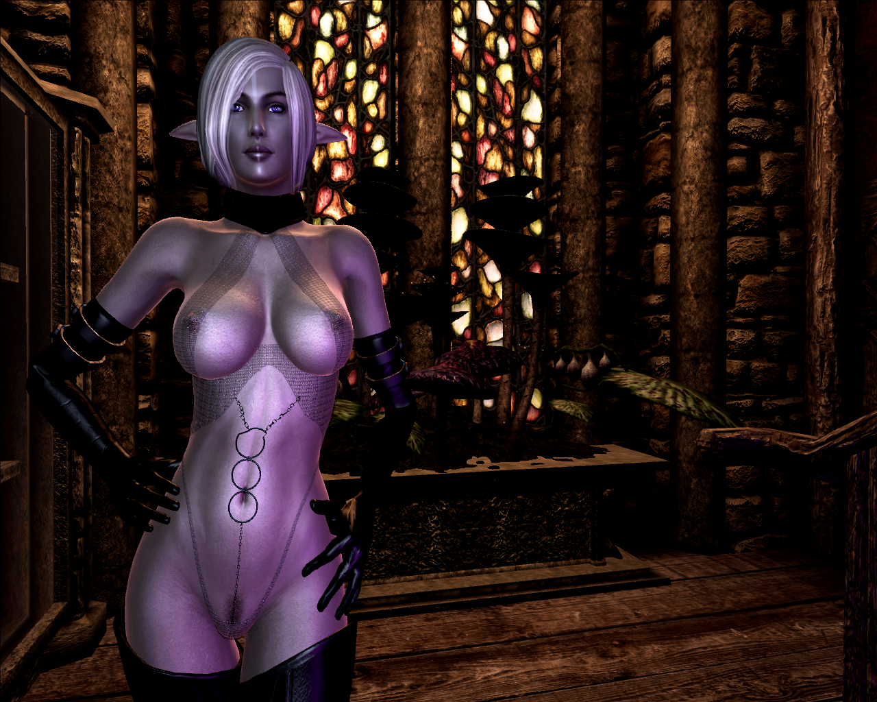 Nude mod in wow