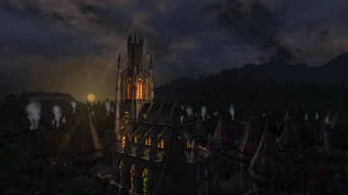 Scenic view over Skingrad