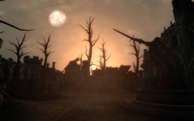 Sunrise Over Kvatch