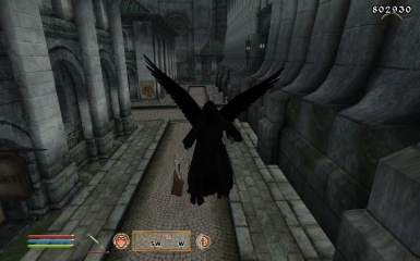 Ringwraith with wings