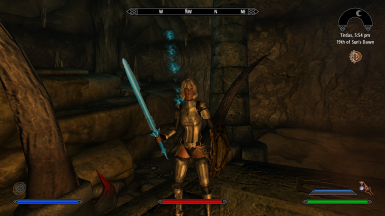 Eisen Plate Armor and custom Enchanted sword