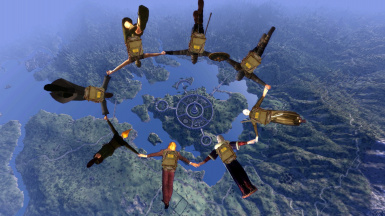 The Tamriel skydiving club