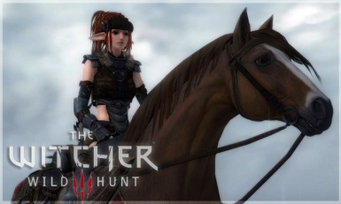 ROACH Witcher 3 horse model resource RELEASE