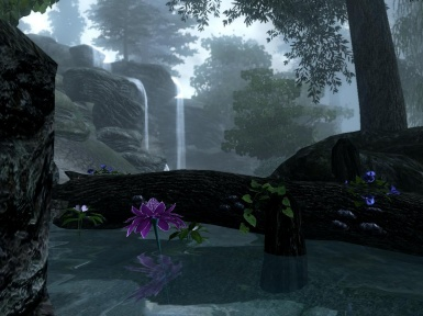 Waterfall near Cheydinhal