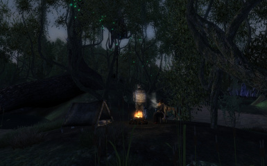 Camping in The Isles