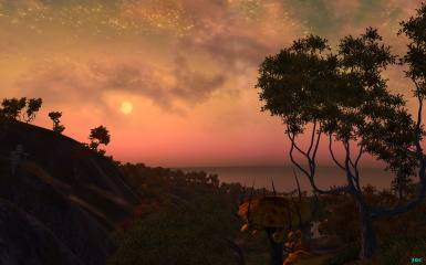 A Shivering Isles Sunset