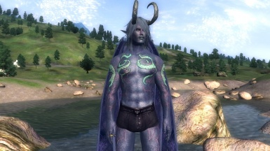Abyss Demon - new default body textures