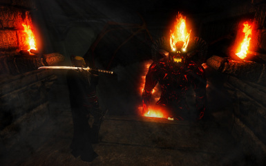 Orc and Balrog