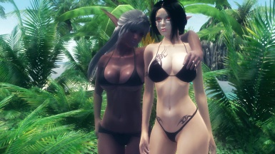 Ezzra and Scarlet