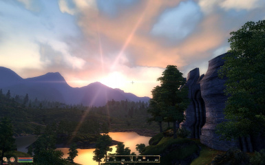 Sunrise by Imperial City