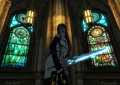 Alir Armor Sexy Pose In The Anvil Church