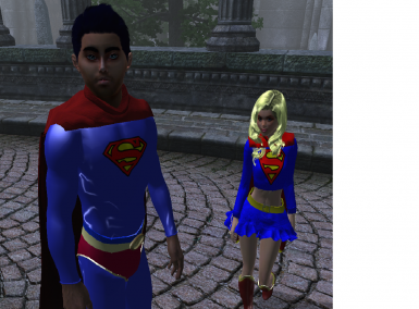 Superman and Super girl