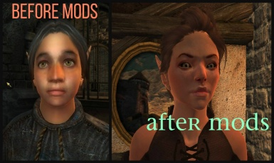 Before and After- Character Creation