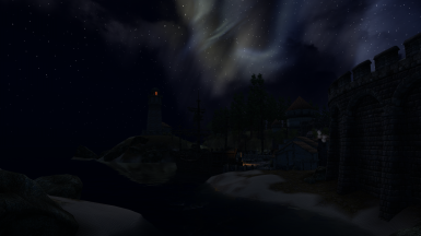 Anvil Harbor at Night