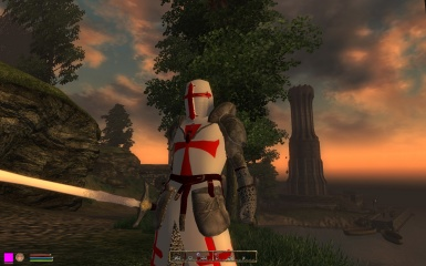 Possibly a hint into a future mod a templar crusade maybe