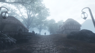 Fog at the imperial city