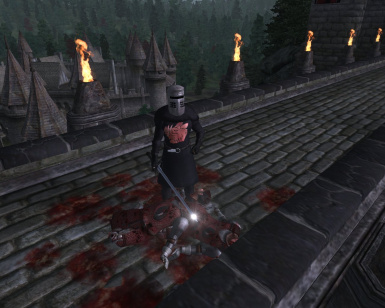 Its just a flesh wound