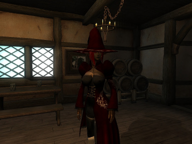 SPB Witch outfit Retexture