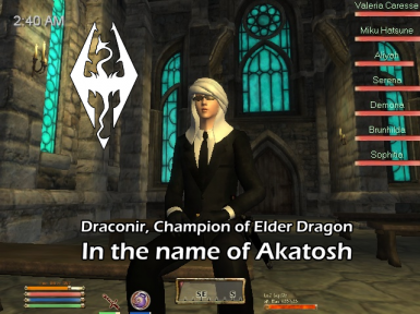 In The Name of Akatosh