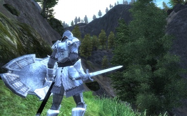 Ancient Silver Armor Redone