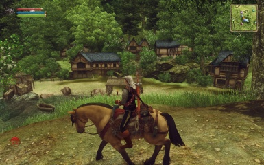 The Witcher in Oblivion - Mod Town of Alnwick