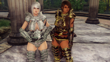 DMZ Amelion Ceremonial and Ebony Armors Replacer _____ Also Almost Sexy Wednesday