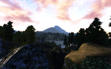 Morning in Cyrodiil