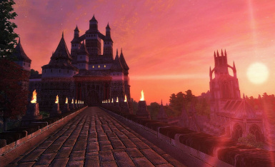 Dusk Over New Skingrad