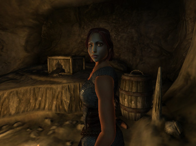 Rienna in the Desolate Mine