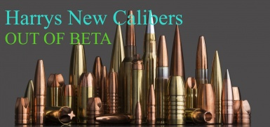 Harry's New Calibers Out Of Beta
