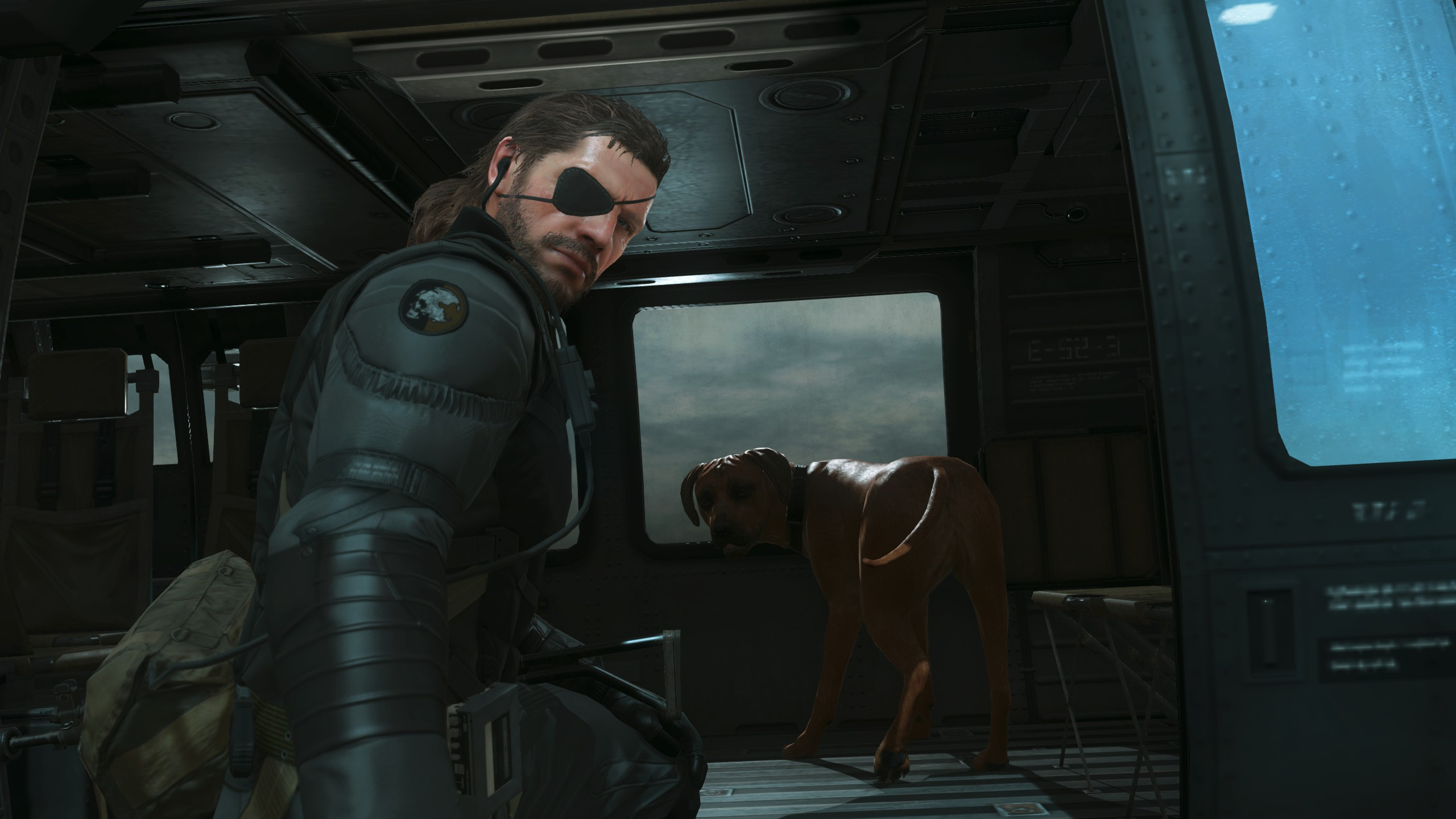 Big Boss With D-Dog