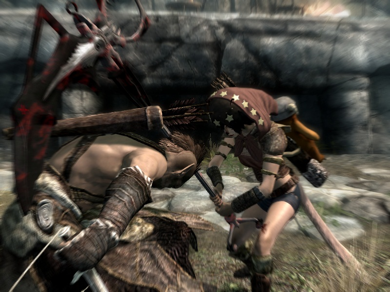 Scythe In The Back At Skyrim Nexus Mods And Community