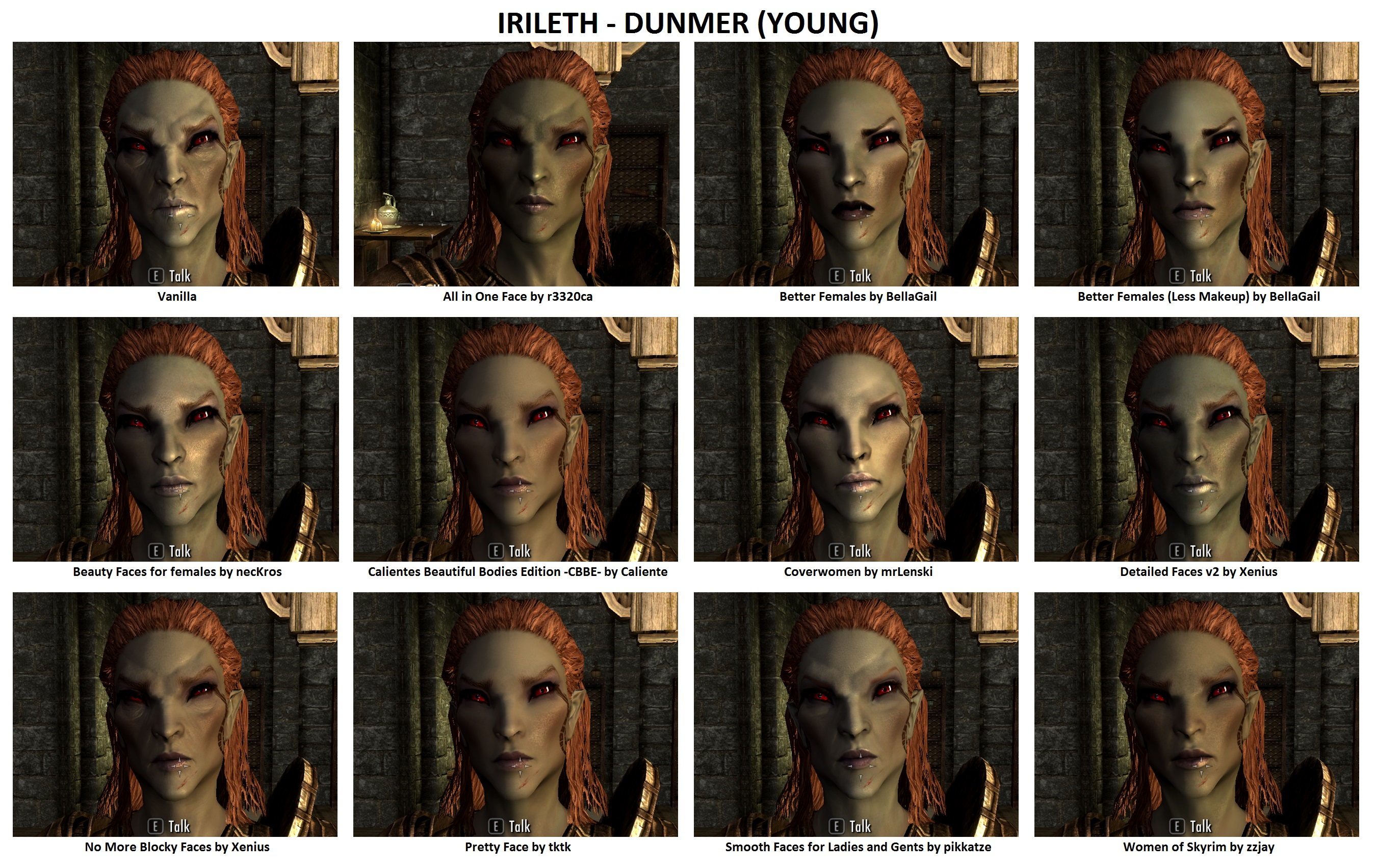 Skyrim smooth skin texture
