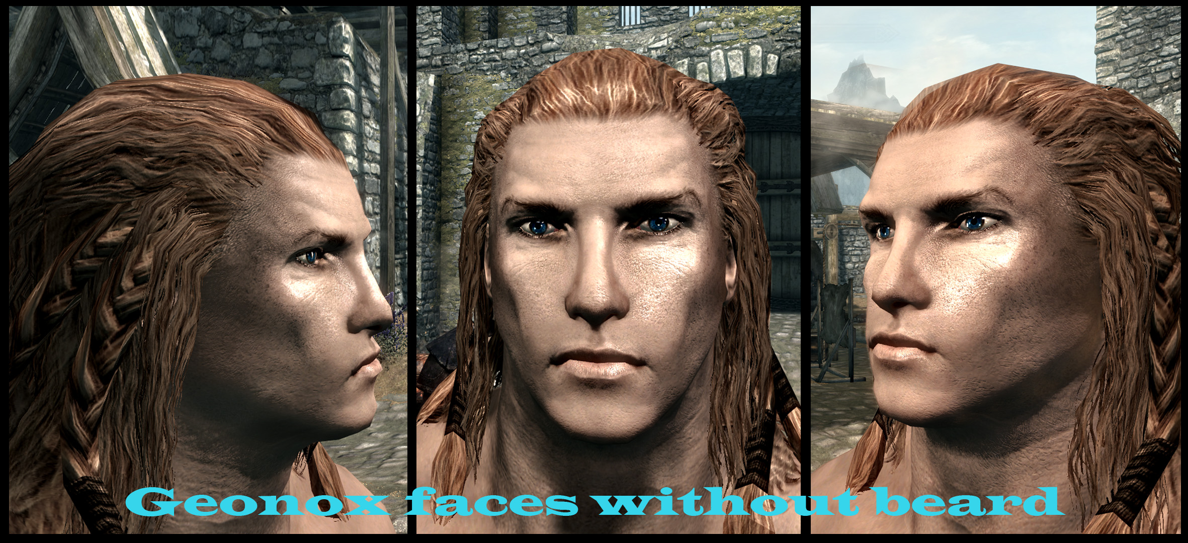 Geonox Faces Without Beard